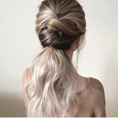 Long Ponytail with Multiple Braids - 40 Best Sporty Hairstyles for Workout – The Right Hairstyles - The Trending Hairstyle Sporty Hairstyles, Trending Hairstyles, Loose Hairstyles, Pretty Hairstyles, Braided Hairstyles, Braided Ponytail, Braided Upstyles, Hair Ponytail, Hair Extensions Best