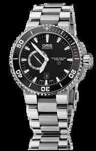 Oris Aquis Titan Diver 500M Small Second Date Black Ceramic Titanium | eBay