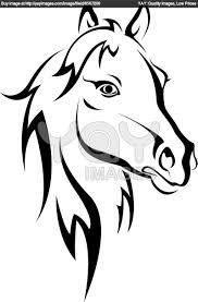 dibujos de caballos  Buscar con Google  caballos  Pinterest  Sk