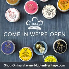 Your dreams have come true!  You can now shop at NubianHeritage.com!