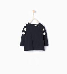 ZARA - KIDS - Polka dot patch top
