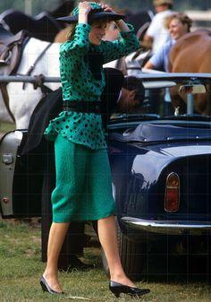 Princess Diana,  June 1985