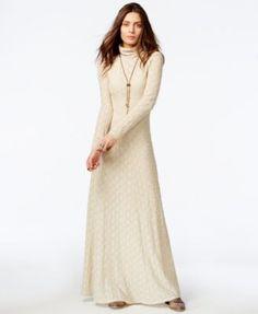 4bdda45e0f9c Free People White River Turtleneck Maxi Dress Women - Dresses - Macy s