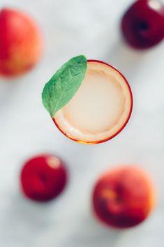Basil & Peach Aperitif