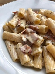 Healthy Dinner Recipes, Snack Recipes, Cooking Recipes, Pasta Med Bacon, Food Cravings, Pasta Recipes, Food Inspiration, Love Food, Food Porn