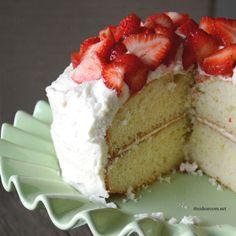 Best White Cake Recipe - The Idea Room
