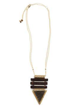 Nakamol Design Beaded Arrow Necklace
