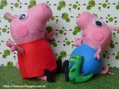 Free sewing pattern for Peppa Pig