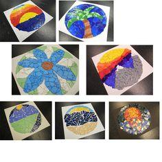 Cd landscape mosaic