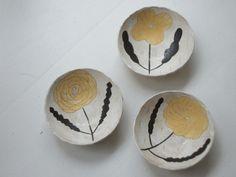 makoto kagoshima new arrival! Kagoshima, Ceramic Spoons, Ceramic Pottery, Ceramic Painting, Ceramic Art, Bowls, Kids Clay, Pottery Painting Designs, Spring Painting