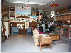Man Cave Garage Gifts : Garage man cave ideas on a budget out in the