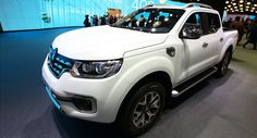 New Alaskan Pickup Brings Ruggedness To Renault's Paris Stand