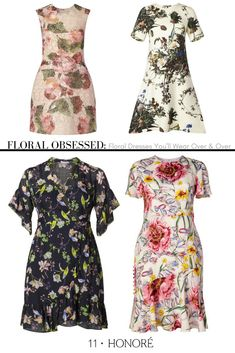 deadd580c7c Beautiful and chic designer dresses in the season s most coveted prints— floral! Curated for
