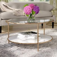 Wayfair Coffee and End Table Sets - New Wayfair Round Coffee Table. Wayfair Round Coffee Table Affordable Living Room Sets Check More.shop Wayfair for Coffee Table Sets to Match Every Style and Bud. Round Coffee Table Sets, Stone Coffee Table, Coffee Table With Storage, Modern Coffee Tables, Best Coffee Tables, Gold Round Coffee Table, Gold Table, Living Room Furniture, Living Room Decor