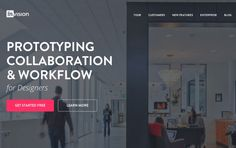 InVision - Website of the day