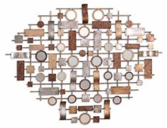 Uttermost Cilento Metal Mirror