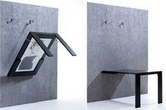 Resultado de imagem para como fazer mesa dobravel de parede passo a passo