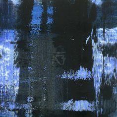GRISAZUR: Acrílico sobre papel, 13x13 cm.Oct. 30, 2016