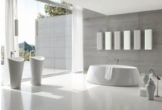 Stunning Minimlaist Bathroom Designs by Toscoquattro