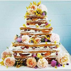 Waffle cake, stacked waffles, wedding cake alternatives, wedding cake trends, wedding cake ideas, 2017