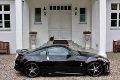 Nissan 350Z - Black Thunder Nissan 350z, Nissan Z Cars, My Dream Car, Dream Cars, Street Racing Cars, Auto Racing, Black Thunder, Honda Civic Si, Mitsubishi Lancer Evolution