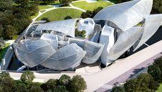 Fundación Vuitton de #FrankGehry | #arquitectura #museos #paris