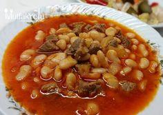 Etli Kuru Fasulye Tarifi Turkish Recipes, Italian Recipes, Ethnic Recipes, Fish And Meat, Fish And Seafood, Turkey Today, Turkish Sweets, Egyptian Food, Turkish Kitchen
