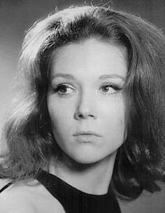 """Diana Rigg played """"Emma Peel"""" on """"The Avengers""""."""
