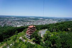 Kite Over the Japanese Pagoda Overlooking Reading Pennsylvania | Flickr - Photo Sharing!