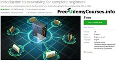 "[#Udemy 100% Off] Introduction to #networking for complete beginners   About This Course  Published 11/2014English  Course Description  You know nothing about networking? Not ready for MTA Servers / Networking Comptia VPN General Networking courses?  The solution is simple: ""Introduction to networking for complete beginners"".  More than 50.000 students have joined this training! 2000 reviews. Start today!  In this course you will learn elementary networking concepts in 60 minutes.  Why do we…"
