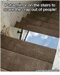 Oh my gosh. That looks dangerous