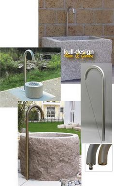 au enbrunnen garten and im freien on pinterest. Black Bedroom Furniture Sets. Home Design Ideas