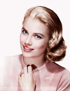 GRACE KELLY  (1929 - 1982)  If anybody starts using me as scenery, I'll return to New York.  -GK Although Grace Kelly was from Philadelphia she had the genteel air of a Southerner