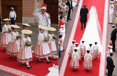 Monaco royal weddings: Prince Albert II and Princess Charlene - hellomagazine.com