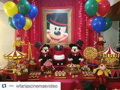 Decoración para Fiesta de MICKEY MOUSE