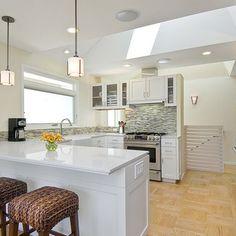 1000 images about kozy kitchen on pinterest kitchen - Kitchen peninsula with stove ...