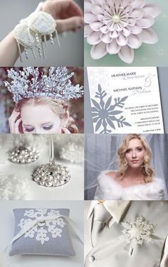 Winter WEDDING --Pinned with TreasuryPin.com