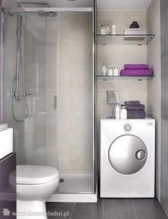 bathroom//dryer in bathroom. warm up towels and easy to take clean clothes to room-