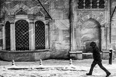 Snowstorm in Istanbul #streetphotography #blackandwhite #bnw #istanbul #istanbuldayasam