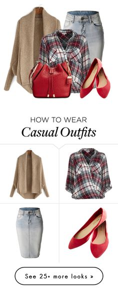 """casual"" by rvazquez on Polyvore featuring LE3NO, River Island, Calvin Klein and Wet Seal"