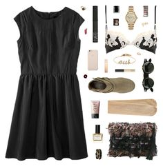 """""""love you more"""" by belenloperfido ❤ liked on Polyvore featuring Mossimo, Leur Logette, La Perla, Burberry, Monsoon, NARS Cosmetics, Balmain, Juicy Couture, Black Apple and Moore & Giles"""