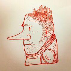 Perfil de hombre de nariz larga - @ericleonhdez | Webstagram
