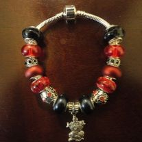 Happy Cat Charm Bracelet