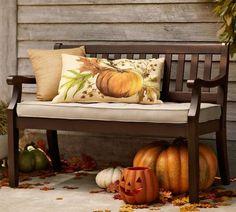 Pumpkin Porch Autumn Love