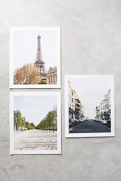 Parisian Scene Print - The photographers imagery plays brilliantly with light and color to allow sun-drenched landscapes and delicate shadows to unfold in equal measure. These would look lovely in any home. Apartment Decorating On A Budget, Room Wall Decor, Colorful Decor, Decoration, Wall Prints, Unique Art, Parisian, Cool Pictures, Tapestry