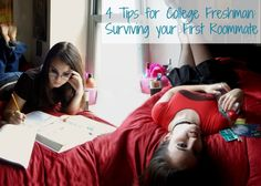 4 Tips for College Freshman: Surviving your First Roommate | GirlsGuideTo
