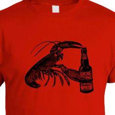 Beer Drinking Lobster - $20.00, via Etsy.