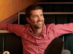 Josh Turner...with that voice and those looks, he could sing the phone book to me and I'd swoon.
