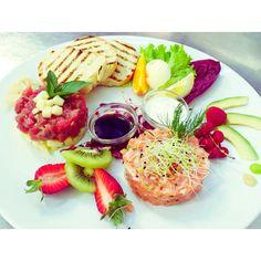 Tartar di Tonno e Salmone  #food #lake #love