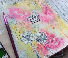 Art Journal Pages, Art Journals, Journal Ideas, Paper Doilies, Creative Journal, Fun Challenges, Dance Art, Artist Trading Cards, Atc